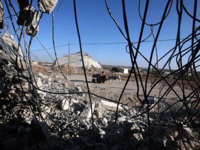 Nach den Kämpfen: Trümmer in einem Flüchtlingslager im Gazastreifen. (Symbolbild)