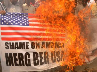 Protest gegen die USA