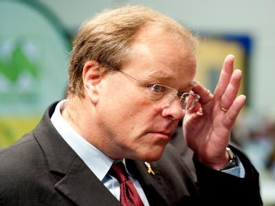 Entwicklungsminister Dirk Niebel ist auf das Flughafenpersonal in Bagdad nicht gut zu sprechen.
