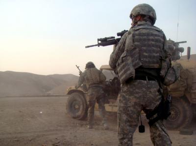 US-Soldaten bei einem Einsatz gegen die Taliban in Afghanistan. (Archivbild)