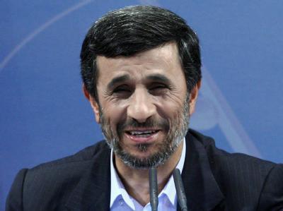 Irans Präsident Mahmud Ahmadinedschad ist mit der Entwicklung in Ägypten nicht unzufrieden.