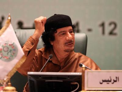 Libyens Führer Gaddafi