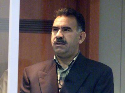 Öcalan (Archivbild) ist seit 1999 inhaftiert.