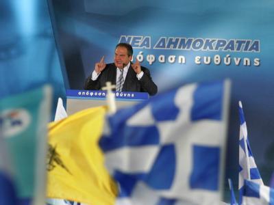 Wahlkampf in Griechenland