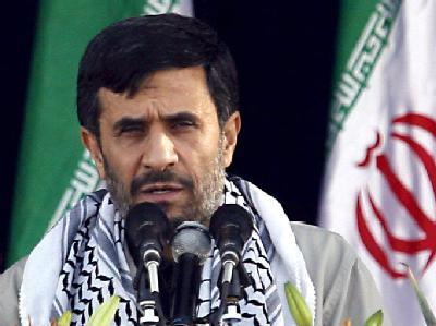 Der Atomkurs von Präsident Ahmadinedschad gehört zu den Dauerproblemen der internationalen Politik. Foto: Abedin Taherkenareh/Archiv