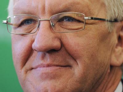 Winfried Kretschmann könnte als erster Grüner Ministerpräsident werden.