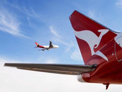 Qantas-Maschinen