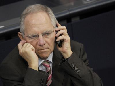Wolfgang Schäuble: «Regieren heißt nicht, Geschenke zu verteilen.»