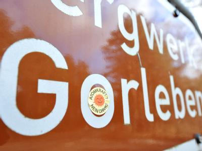 Gorleben-Schild