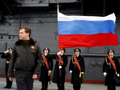 Präsident Medwedew