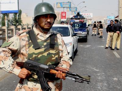 Einsatz in Karachi