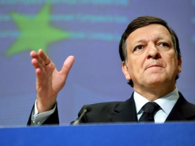 EU-Kommissionspräsident Jose Manuel Barroso während einer Pressekonferenz in Brüssel.