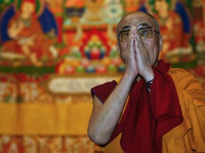 Ein Besuch des Dalai Lama (Archivbild) in einem Kloster im Osten Indiens wird von China scharf kritisiert.