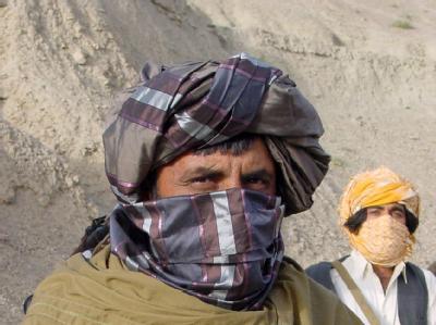 Ein Sprecher der Taliban (Archivbild). Angeblich spielen die USA bei den Bemühungen Kabuls um einen Friedenspakt mit den Taliban eine aktive Rolle.