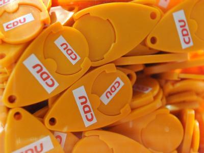 Chips für Einkaufswagen mit der Aufschrift