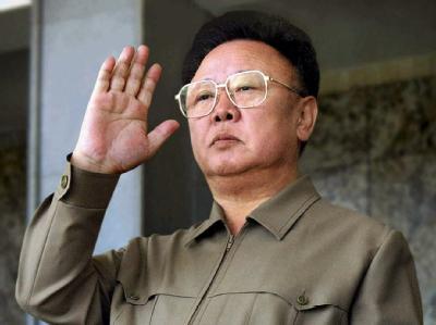 Der nordkoreanische Militärmachthaber Kim Jong Il. (Archivfoto)