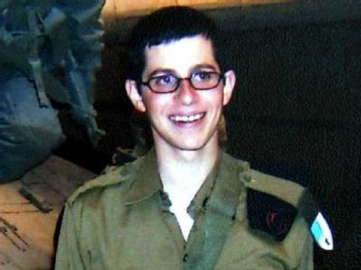 Der entführte israelische Soldat Gilad Schalit auf einem undatierten Archivfoto.