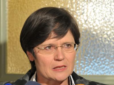 Die CDU-Kandidatin für das Ministerpräsidentenamt in Thüringen, Christine Lieberknecht.