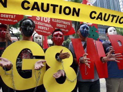 Demo gegen G8 Gipfel