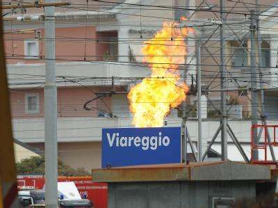 Die Zahl der Toten nach dem Feuerinferno von Viareggio ist auf 18 gestiegen.