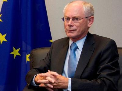 EU-Ratspräsident Hermann Van Rompuy: «Gerede über eine Ansteckung hat keine wirtschaftliche oder rationelle Grundlage.»