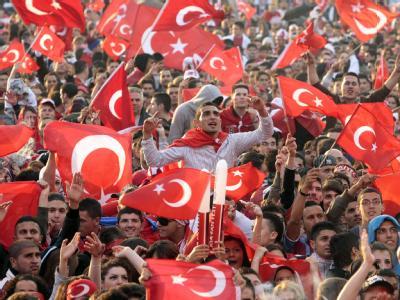 Türkische Fußball-Fans