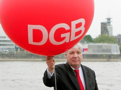 Der Deutsche Gewerkschaftsbund (DGB) feiert heute sein 60-Jähriges Bestehen. (Archivbild)