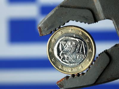 Griechische Euro-M�nze
