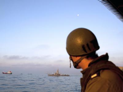 Einsatz gegen Gaza-�Solidarit�tsflotte�