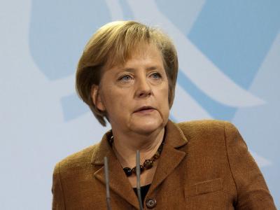 Ernstes Gesicht: Schon zwei Mal soll ein geistig Verwirrter auf das Privatgrundstück der Kanzlerin vorgedrungen sein.