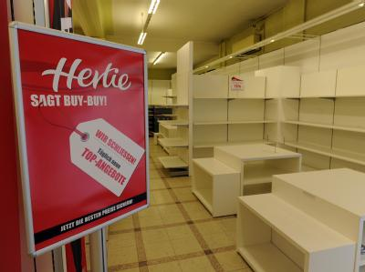 Mitte 2008 hatte die Warenhauskette Hertie Insolvenz angemeldet.