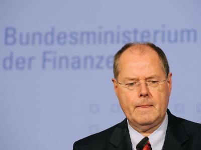 Finanzminister Peer Steinbrück: Pläne der FDP «nicht weniger wirr» als die der Linkspartei.