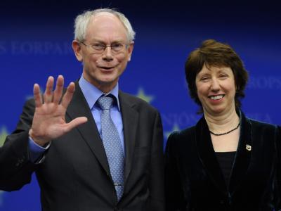 Van Rompuy und Ashton