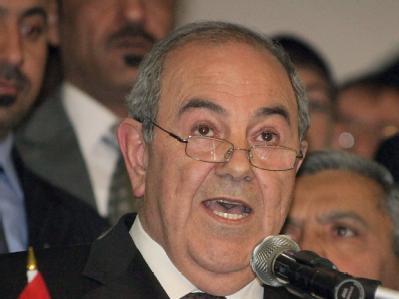 Ex-Ministerpräsident Allawi (Archivbild) hat die Wahl gewonnen.