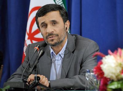 Präsident Ahmadinedschad