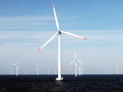 Insgesamt ist der Bau von 40 neuen Offshore-Windparks geplant.
