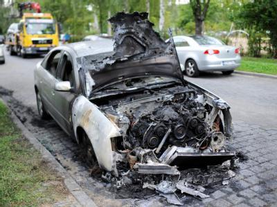 Die Serie von Brandstiftungen in den Straßen der Hauptstadt geht ungehindert weiter.