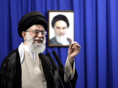 Ali Chamenei ist geistliches Oberhaupt und höchste politische Instanz.