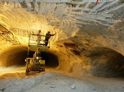 Bergarbeiter im niedersächsischen Gorleben. Im Streit um ein Atommüll-Endlager in Gorleben nimmt ein Untersuchungsausschuss seine Arbeit auf.