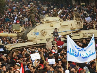 Panzer in Kairo