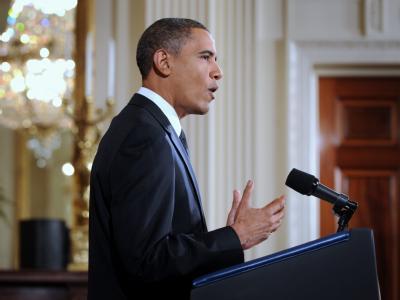 US-Präsident Barack Obama am Mittwoch im Weißen Haus.