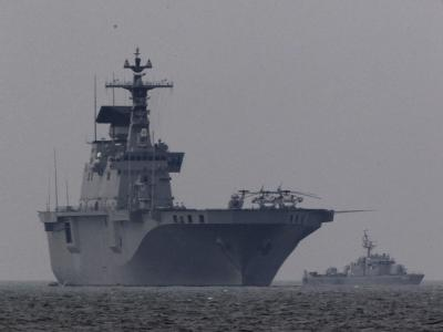 Schiffe der südkoreanischen Marine an der Seegrenze zu Nordkorea. (Archivbild)