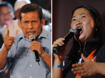 Humala und Fujimori