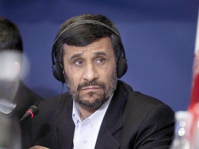 Irans Präsident Ahmadinedschad mit ernster Miene. Noch gibt es über verschärfte Sanktionen gegen Teheran keine Einigung.