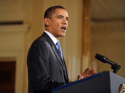 US-Präsident Barack Obama erhält den Friedensnobelpreis.
