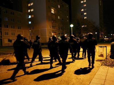 Polizeieinsatz in einem Vorort der französischen Hauptstadt. (Archivbild)