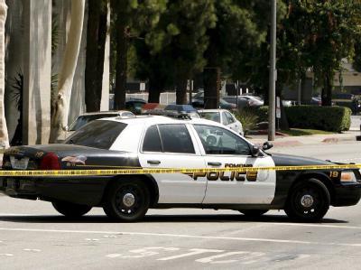Ein Wagen der Polizei von Kalifornien an einem Einsatzort. Foto: Paul Buck/Archiv
