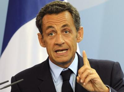 Präsident Sarkozy