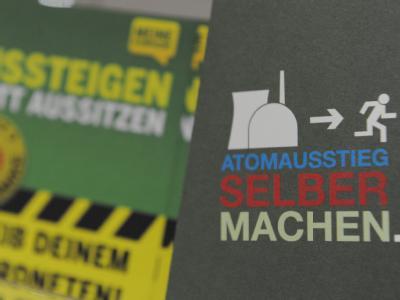 Die Grünen sind in Sachen schwarz-gelber Atomausstieg geteilter Meinung.