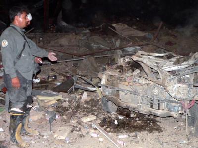 Bombenanschlag in Kandahar